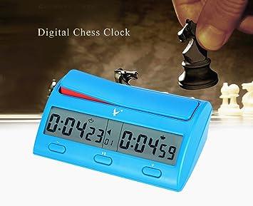 CFtrum Multifuncional Profesional Digital Reloj de Ajedrez ...