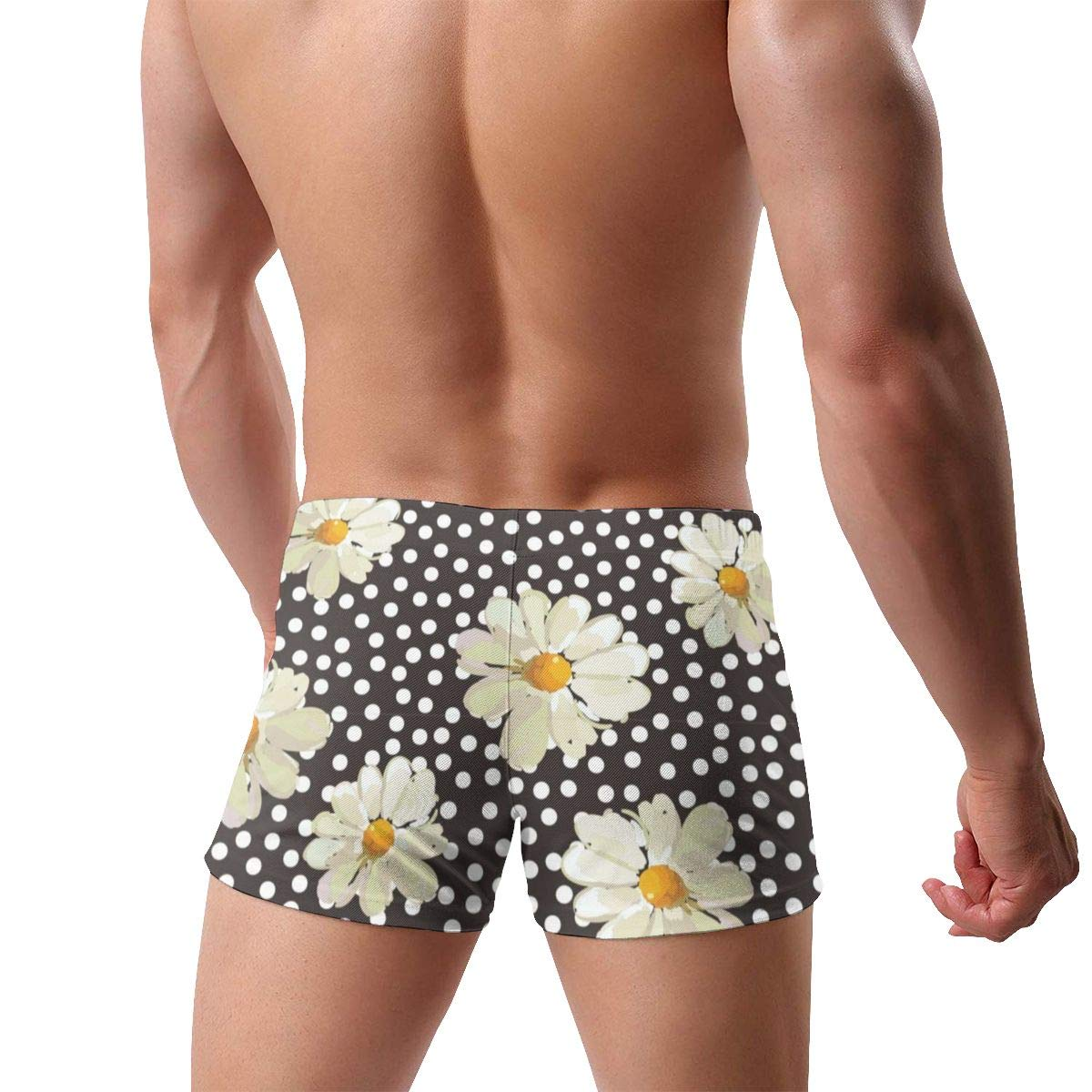 G66TCX Mens Boxer Swimwear Retro Summer Quick Dry Surf Boxer Trunks Shorts Swim Underwear