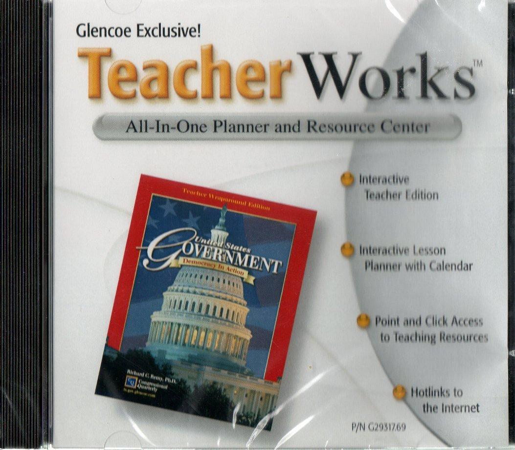 "Glencoe United States Government ""Democracy in Action"" Teacher Works CD  ROM: 9780078293177: Amazon.com: Books"