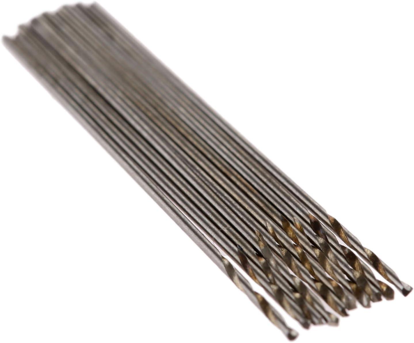 elektrisches Bohrwerkzeug Mtsooning HSS-Spiralbohrer Mikro-Bohrer Rundschaft und Zylinderschaft
