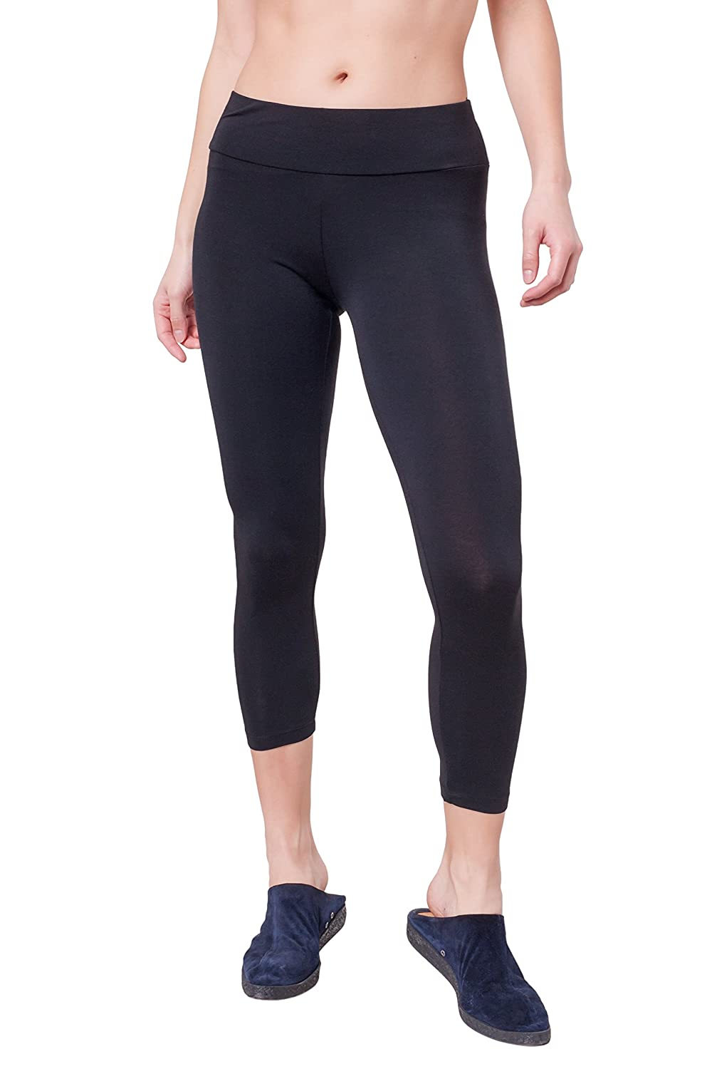 A to Z Cropped Modal Leggings DL-1
