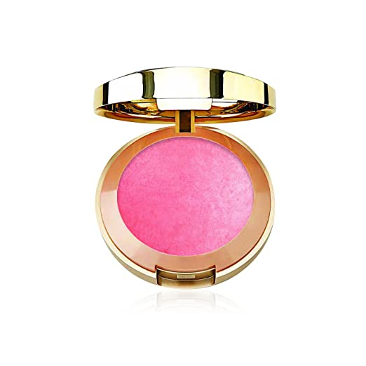 Milani Baked Blush, Dolce Pink, 0.12 Ounce