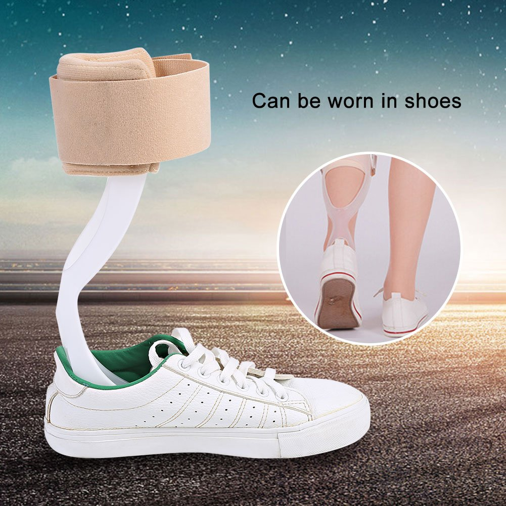 Left Foot M Ankle Support AFO Adjustable Foot Drop Orthosis Ankle Corrector Brace Support Protection Correction Splint