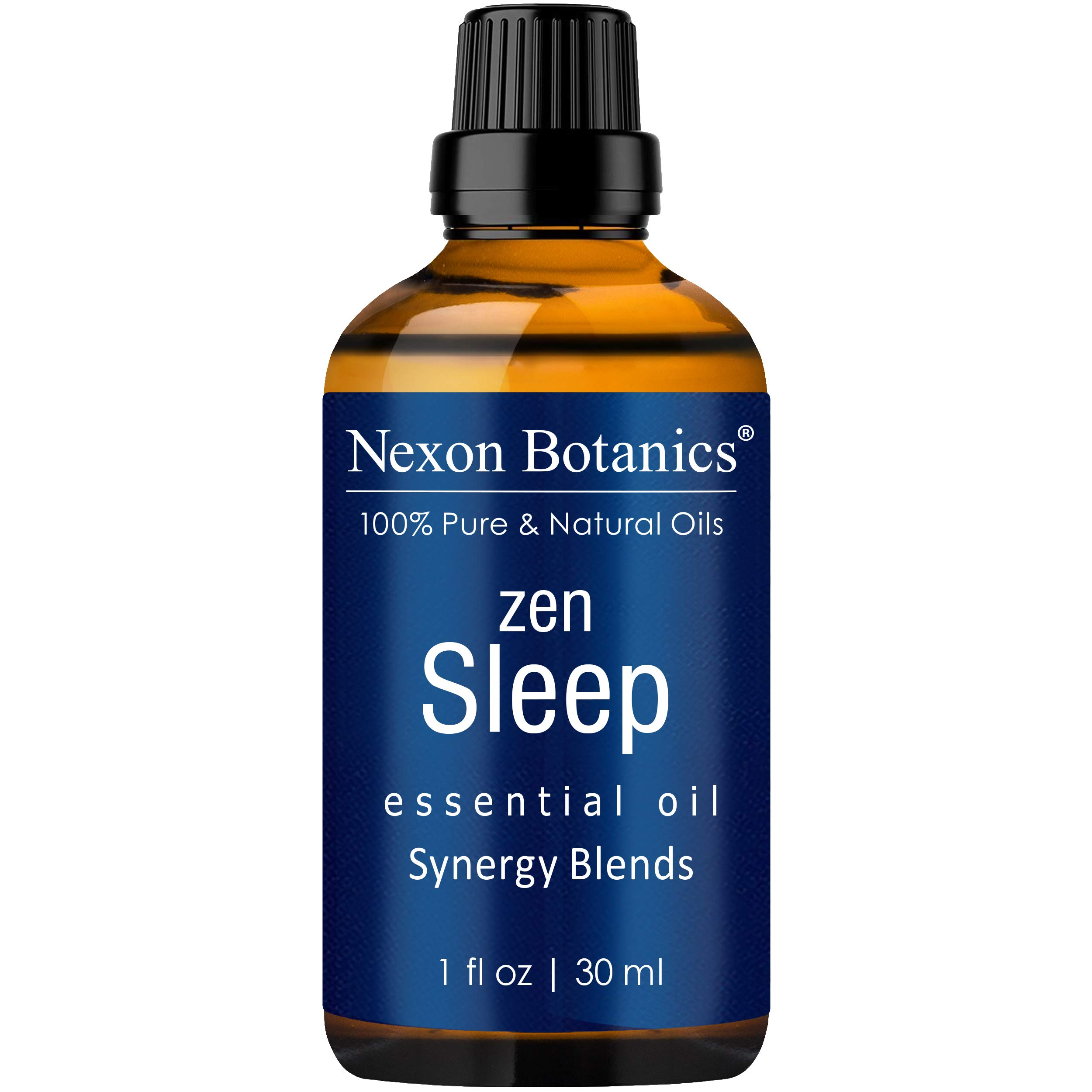 Nexon Botanics Zen Sleep Essential Oil 30 ml - Relaxing, Calming Sleeping Essential Oils for Sleep - Good Sleep Essential Oil for Diffuser and Aromatherapy - Promotes Sweet Dreams by Nexon Botanics