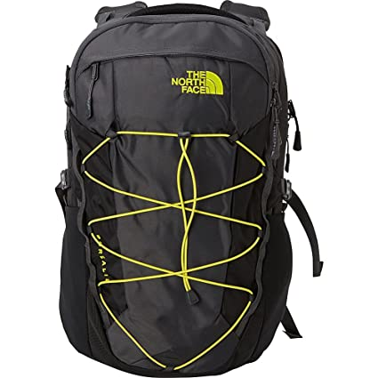 The North Face Borealis Laptop Backpack - 17 quot  (Asphalt Grey Sulphur  Spring 21c51ebd75bf