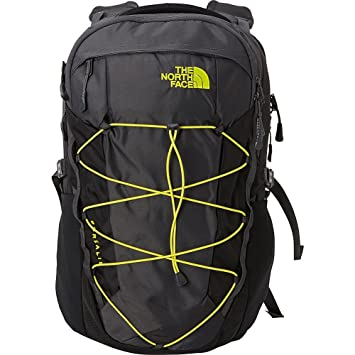 The North Face Equipment TNF Mochila Borealis, Unisex adulto, Asphalt Grey/Sulphur Spring Green, Talla única: Amazon.es: Deportes y aire libre
