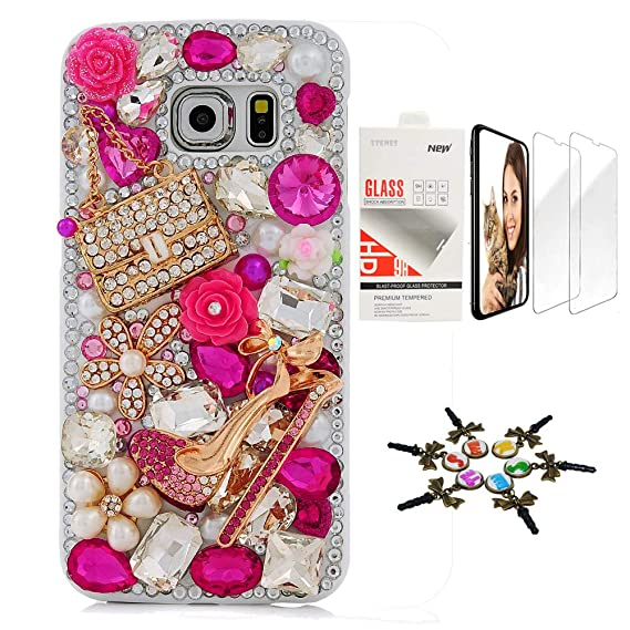 Amazon.com: STENES Bling Case SSSGCDwSPSeries-16 - Funda de ...