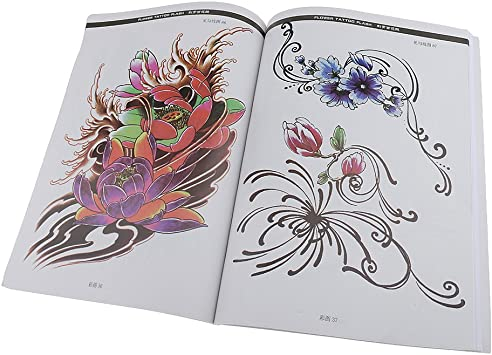 Toygogo Nueva Moda Mujer Dama Cuerpo Arte Tatuaje Dibujo Libro ...