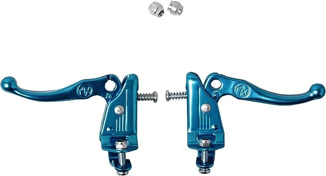 Pair TECH-3 Blue BRAKE LEVER 22.2 mm DIA-COMPE MX-121