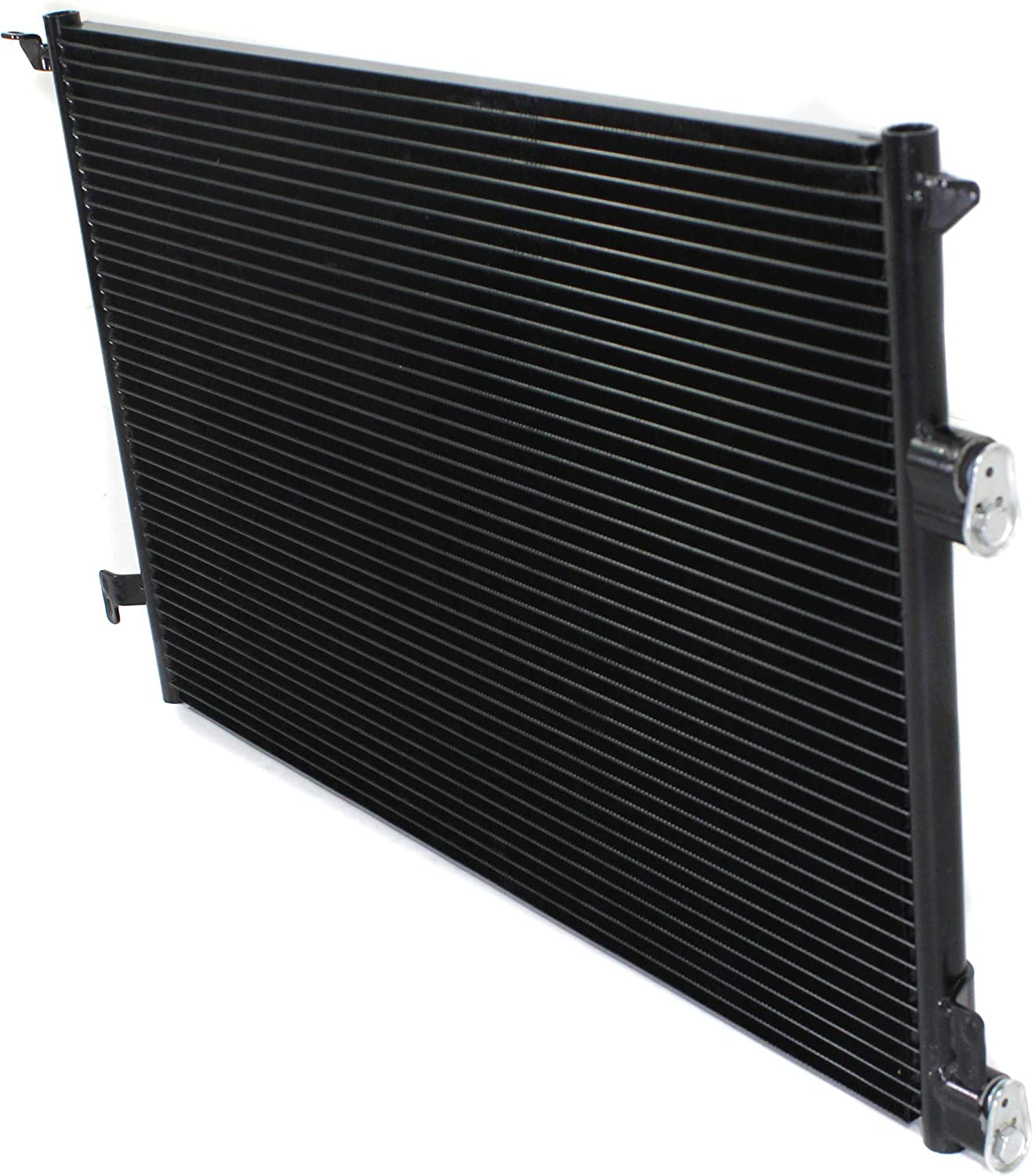 A//C Condenser Compatible with 2003-2010 Saab 43899 Aluminum Core With Receiver Drier