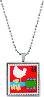 product image for American Coin Treasures United States Postage Woodstock Celebration Stamp Ball Chain Pendant Necklace