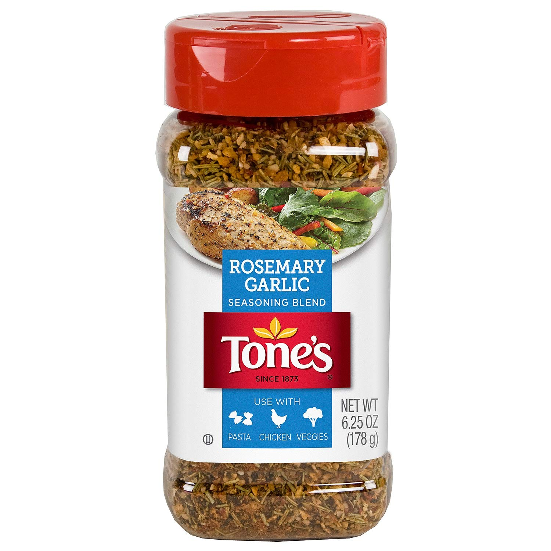 Tone's Rosemary Garlic Seasoning (6.25 oz.) (pack of 2)
