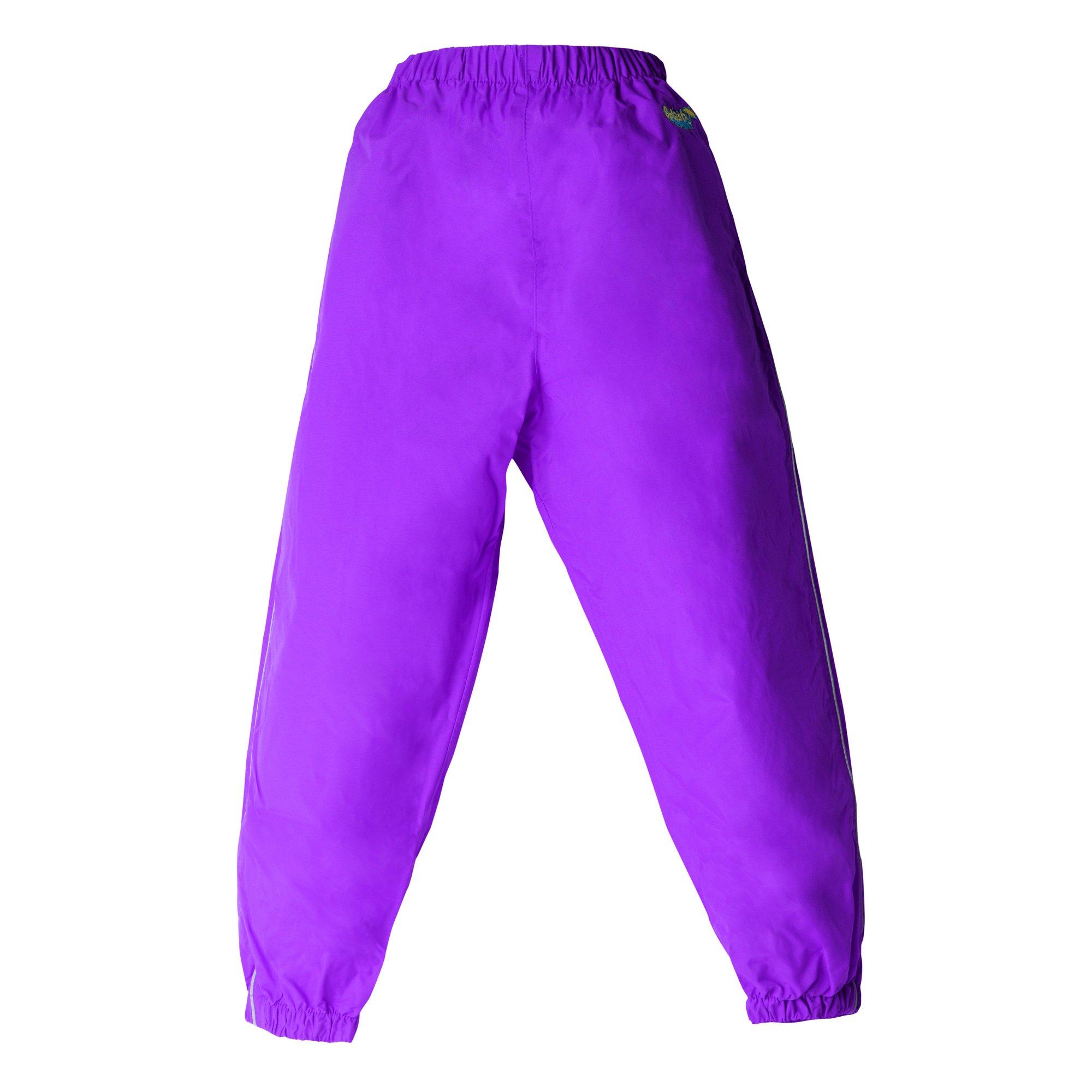 Splashy Rain Pants (4T, Purple)