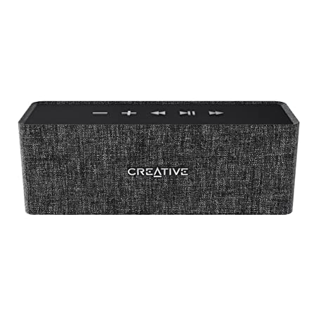Creative NUNO Bluetooth Wireless Speaker - BLACK (51MF8270AA001) Bluetooth Speakers at amazon