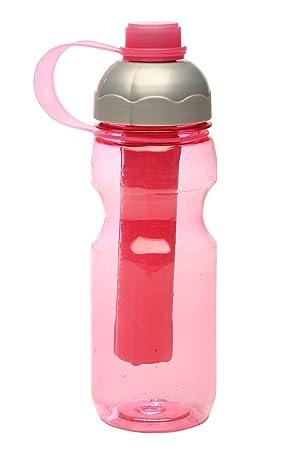 DSL Botella de Agua para Bebidas, rellenable para Niños y Adultos, con Palo de