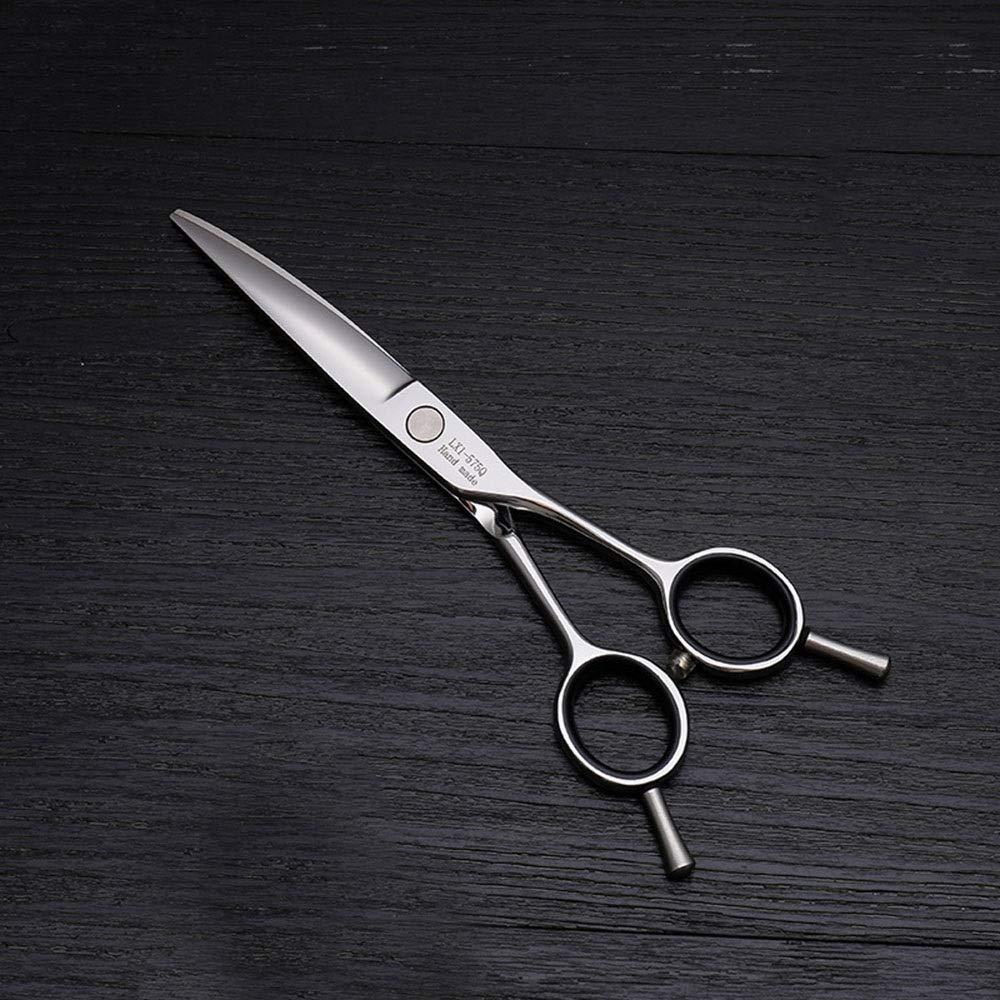 Blian1 6インチ理髪はさみ散髪両用バリカン、ステンレス鋼トリマー (色 : Silver) B07S88RP98 Silver