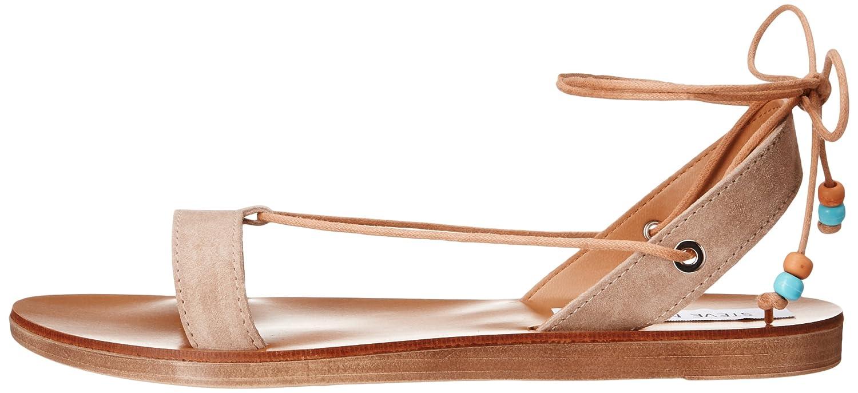 Steve Sandal Madden Women's Rennyy Flat Sandal Steve B01FKWIZSQ 7 B(M) US|Taupe Suede ecc516