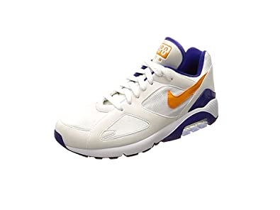 Nike Air Max 180, Chaussures de Gymnastique Homme, Blanc Cassé (White B R It E Ceramic Dark Concorde 101), 46 EU