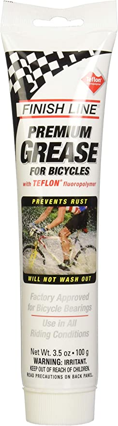 Finish Line Premium Grasa Sintética para Bicicleta con Fluoropolímero de Teflón: Amazon.es: Deportes y aire libre