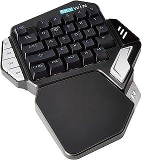 f6862a68395 Skywin Programmable Gaming Keypad - Ergonomic One Handed RGB Backlit  Mechanical E-Sports Keyboard -