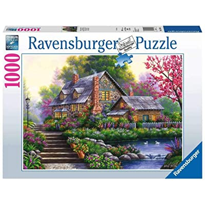 Ravensburger Romantic Cottage 15184 1000 Piece Puzzle for Adults, Every Piece is Unique, Softclick Technology Means Pieces Fit Together Perfectly: Toys & Games