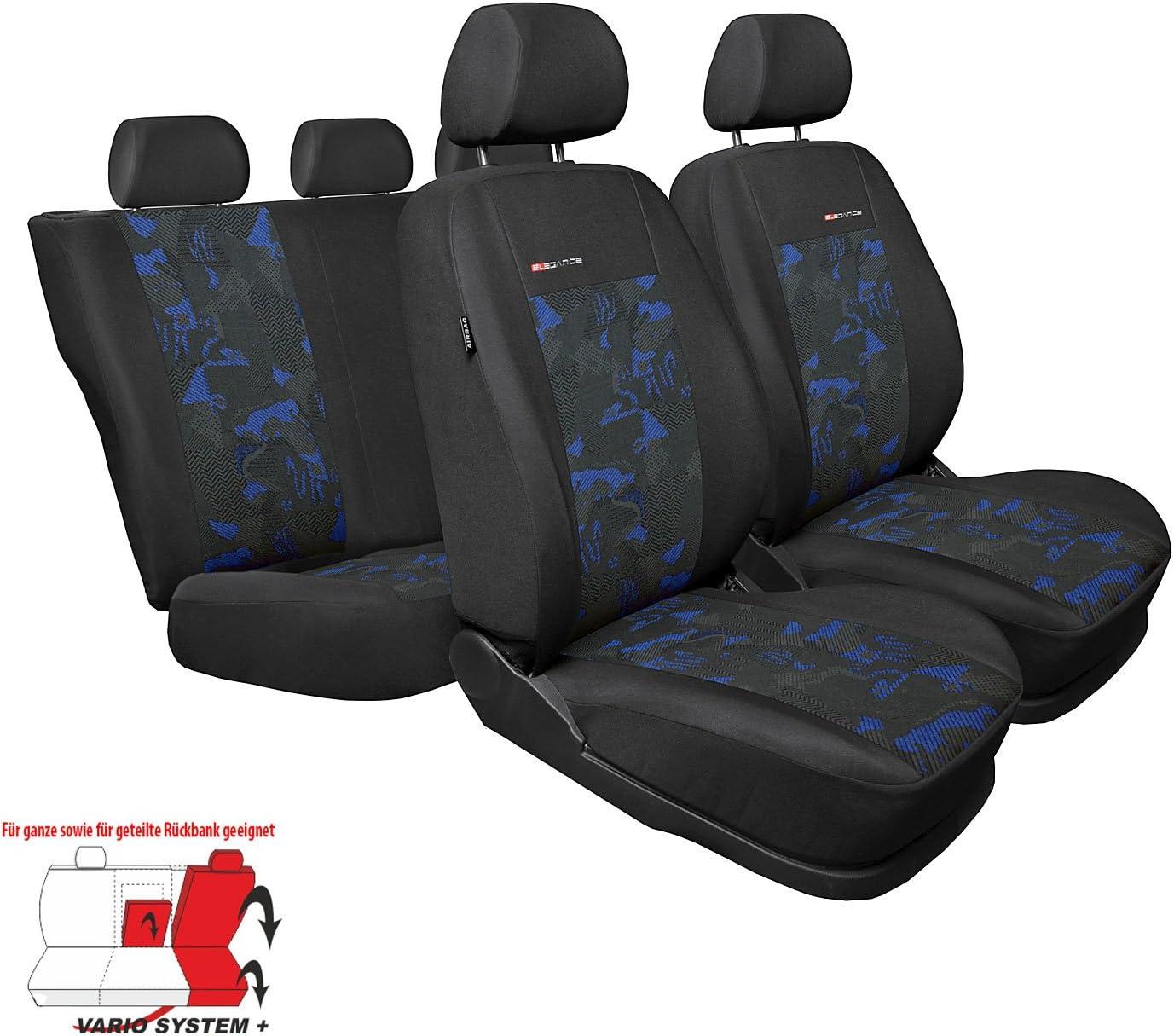 Universal Rot Sitzbez/üge Komplettset Sitzbezug f/ür Auto Sitzschoner Set Schonbez/üge Autositz Autositzbez/üge Sitzauflagen Sitzschutz Elegance Saferide