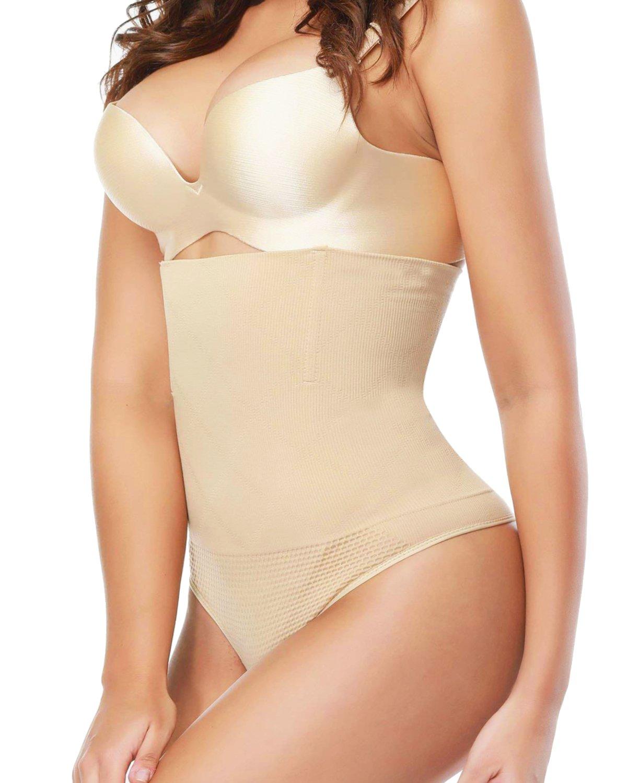 SEXYWG Minceur Culotte Sculptante Taille Haute Tongs Push Up Gainante Slip Amincissante Bodyshape Ventre Plat Sous-vêtements SF3682-FR