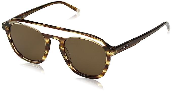 Calvin Klein Hombres lentes ovalados de sol Ck4357s hombre ...