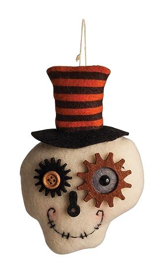 Morbid Enterprises Plush Top Hat Ornament Halloween Decor Multi One Size