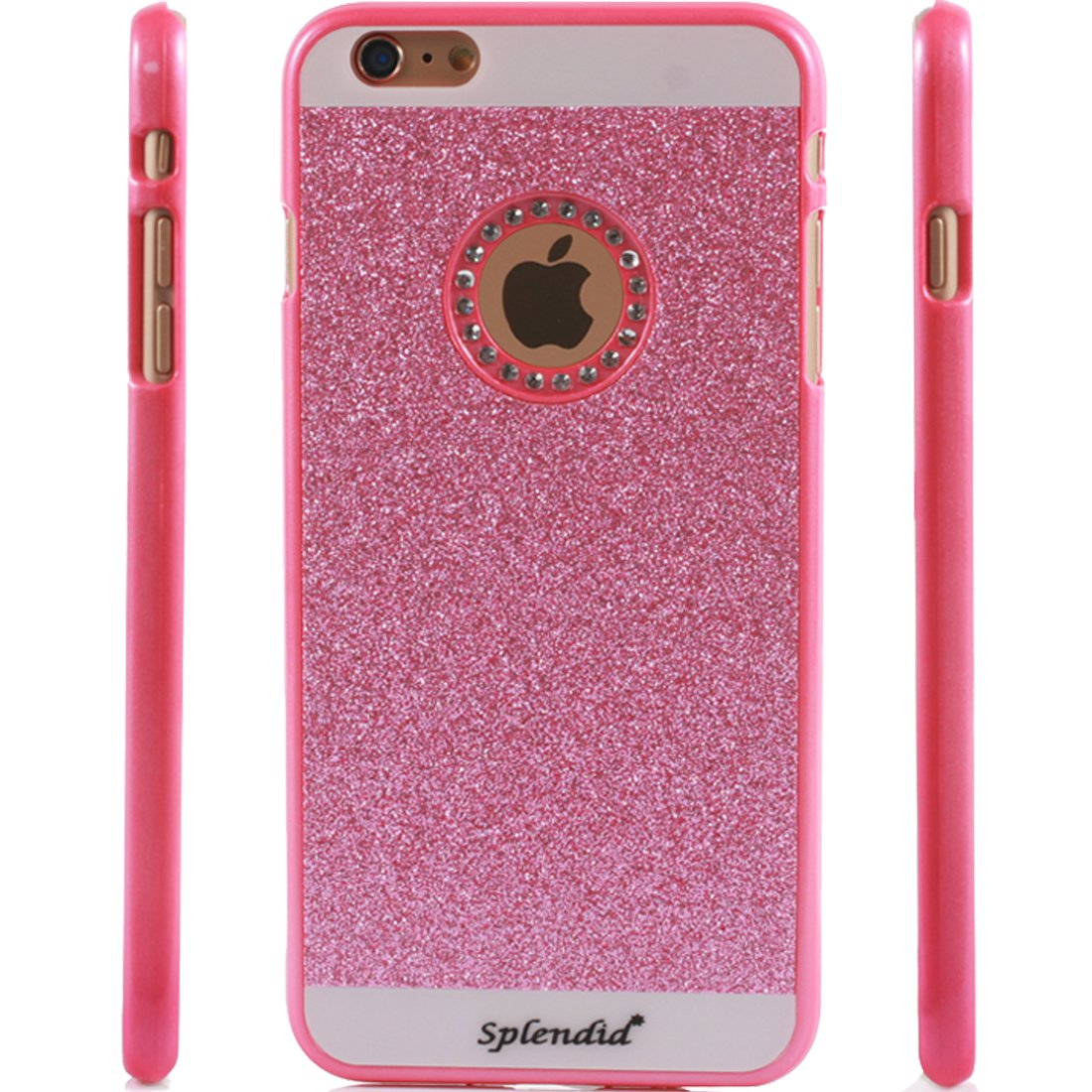 iphone 6 pink glitter case