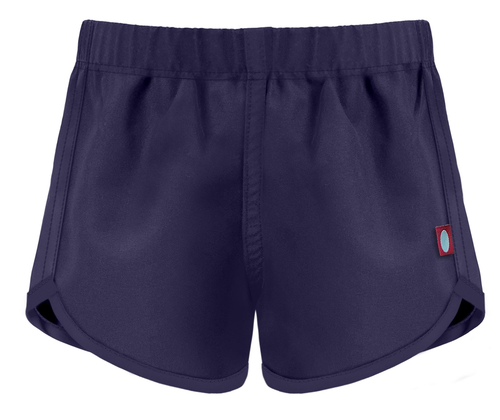 City Threads Girls' Swimming Suit Bottom Board Short, Navy, 6