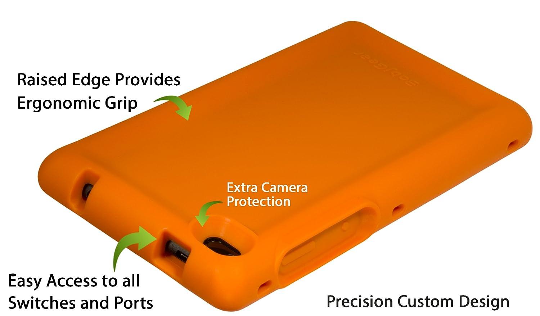 Verde BobjGear Bobj Carcasa Resistente para Tablet Lenovo Tab 7 TB-7504F, TB-7504X 2018