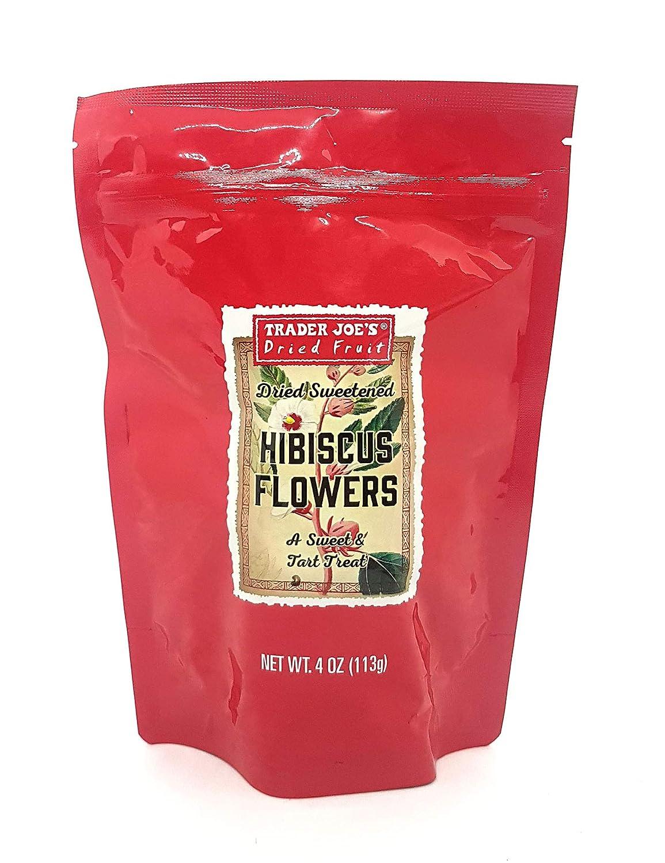 Amazon trader joes dried sweetened hibiscus flowers snack 4 oz izmirmasajfo