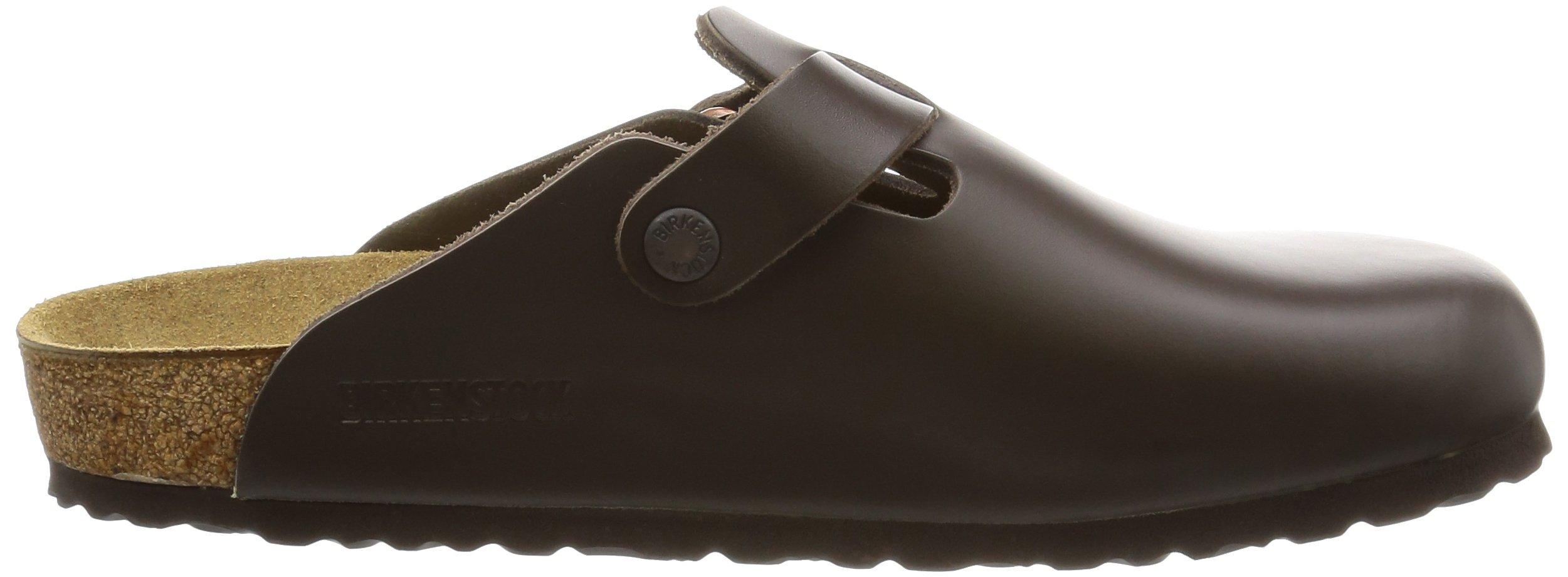 Birkenstock Boston, Unisex Adults' Clogs, Dark Brown Leather,8 UK by Birkenstock (Image #7)
