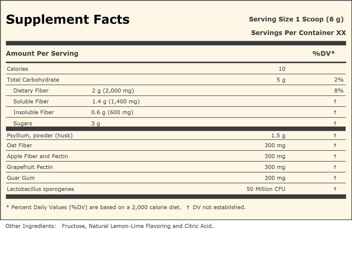 Andrew Lessman Fiber Benefits, 120 Servings by Andrew Lessman