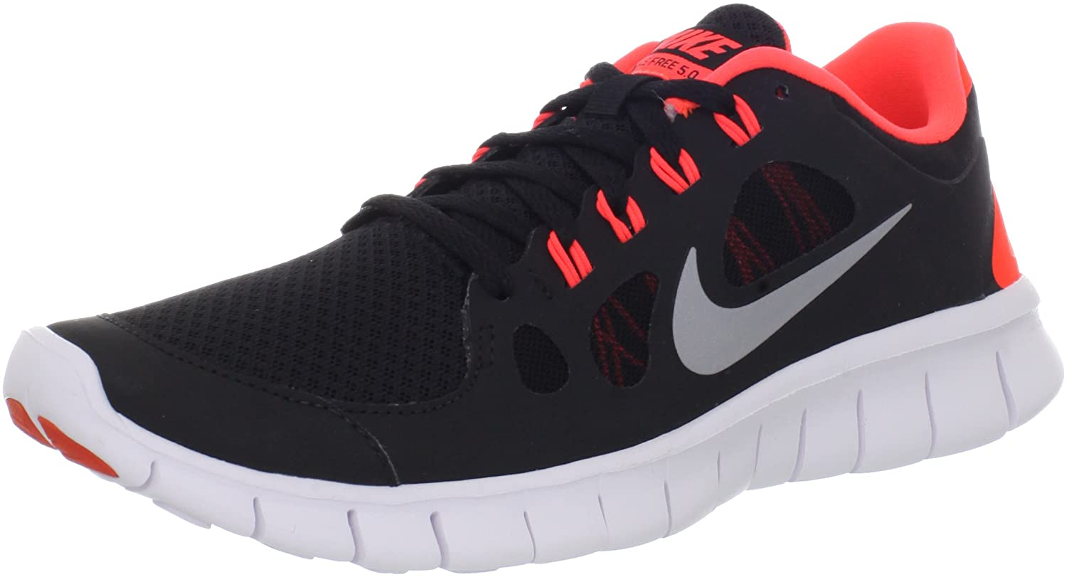 watch 81000 294eb Nike Junior Free 5.0 (GS) Running Shoes - J5.5 Black  Amazon.co.uk  Shoes    Bags