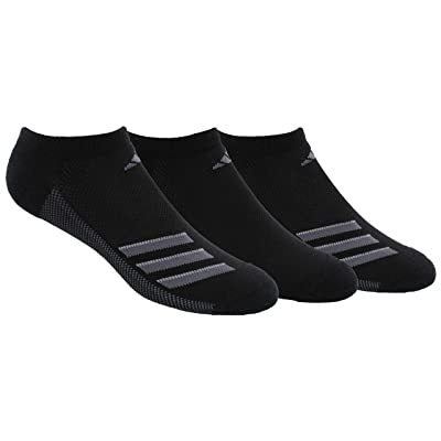 adidas Men's Climacool Superlite No Show Socks (3 Pack): Clothing