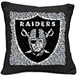 NFL Oakland Raiders Pillow Latch Hook Kit, 9-Inch