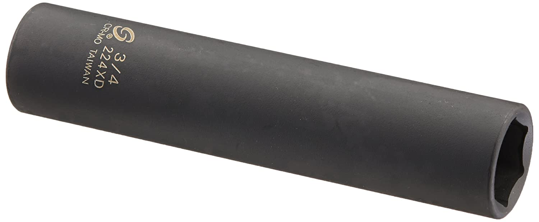 Sunex 224XD 1/2' Drive 3/4' Extra Deep Impact Socket