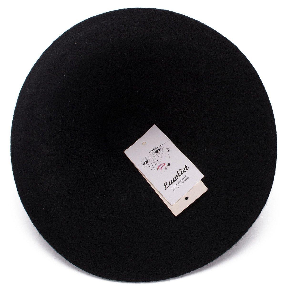 Amazon.com: Lawliet estilo único sombrero de fieltro de lana ...