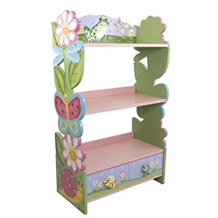 Magic Garden 38quot Bookshelf Made From Manufactured Wood Which Makes It Sturdy And