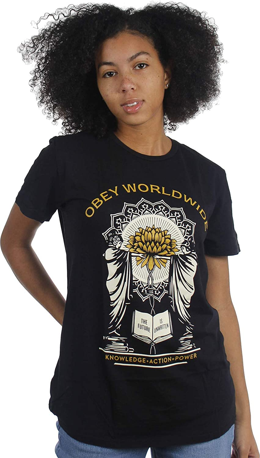 Obey Women's Knowledge & Action 71s2cqTe3ML