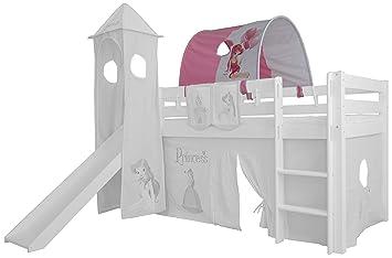 Etagenbett Prinzessin : Xxl discount tunnel für kinderbett 100% baumwolle baldachin dach