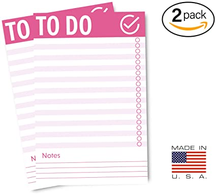 amazon com rightwrite to do list fridge notepad with magnet 2