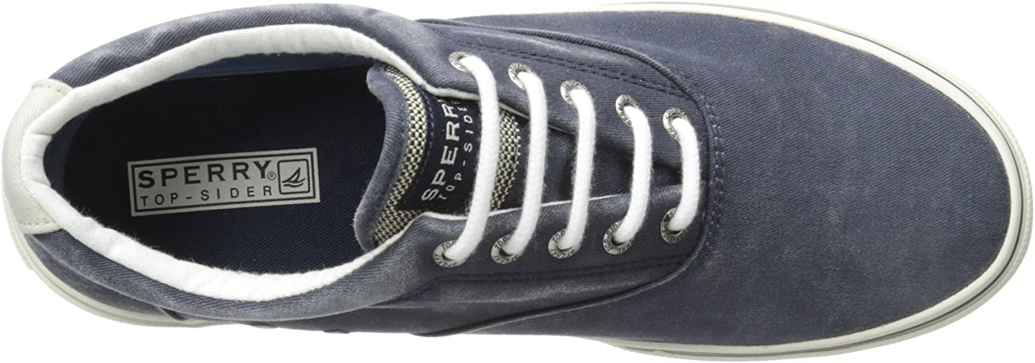 Sperry Top-Sider Men's Halyard Casual Lace Up Shoes Gray