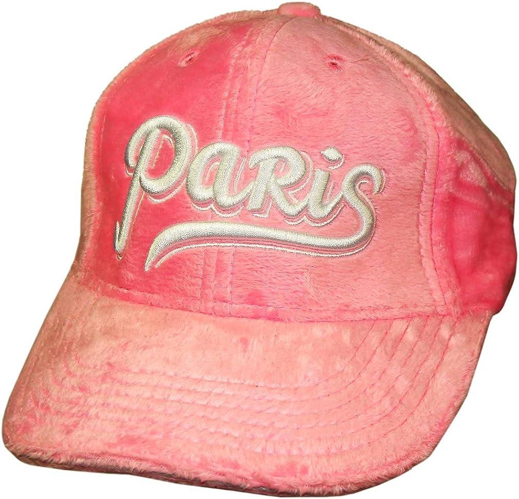 Souvenirs de France Rose Casquette Femme Monaco Strass