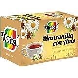 Therbal TE Manzanilla con Anís, 25 sobres