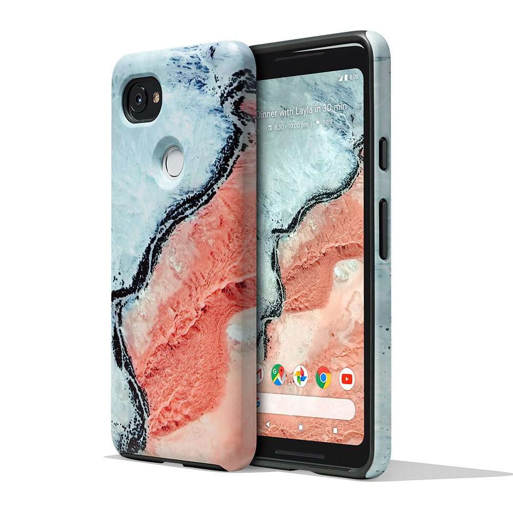 wholesale dealer 63153 f0161 Google Earth Live Case for Pixel 2 XL - River