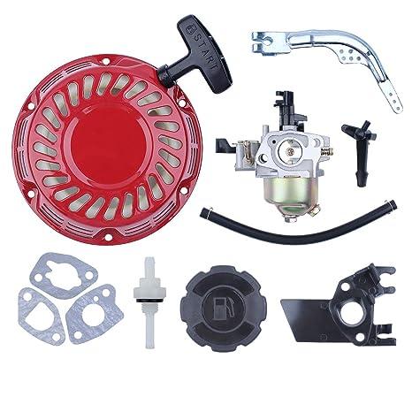 Recoil - Kit de palanca de cambios para motor de gas Honda GX160 GX200 GX 160