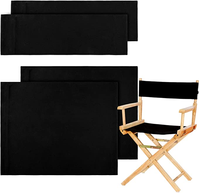 Casual Directors Chairs Replacement Canvas Seat Stool /& Back Covers Sheet 1set